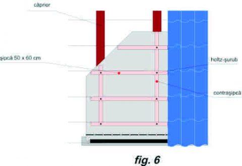 Plan de montaj al acoperisului - fig.6